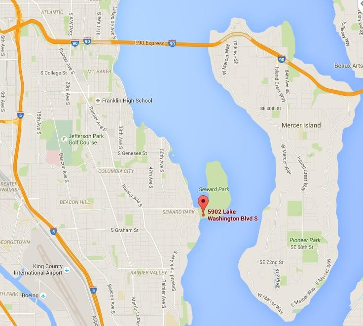 Seward Park Map Hours, Directions & Park Maps | Seward Park Audubon Center Seward Park Map
